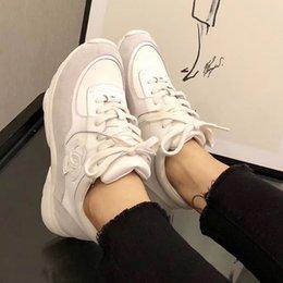 Toptan satış Chanel Lüks Moda basketbol Sneakers gerçek deri açık ayakkabılar em0280 çalışan Casual ayakkabılar Erkek ve kadın Eğitmenler ayakkabı süper yıldızları