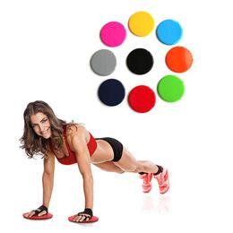 c9e542b50 2PCS ABS Fitness Plate Gliding Discs Slider Fitness Disc Exercise Sliding  Plate Yoga Gym Abdominal Training Exercise Equipment