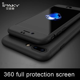 tempered glass screen iphone 6s Canada - wholesale for iphone 7 6 6s case Ultra Thin 360 full + Tempered Glass Screen Protector for iPhone 7 6 6S plus Full Body cover cases