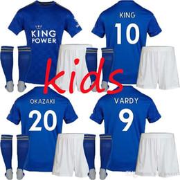 $enCountryForm.capitalKeyWord NZ - 2019 Leicester 2020 City 19 20 KIDS kit Soccer Jersey CHILD home away pink GRAY 7 VARDY 9 KING 10 OKAZAKI 20 BLUE JERSEY FOOTBALL SHIRTS