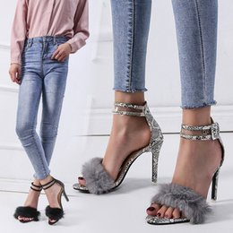 Wholesale Fashion2019 Fine Snake With Fish Mouth One Word Bring Baby Sandals Fund For The Domestic Market Shoe
