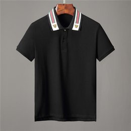 987d6b742 Tiger sTriped shirTs online shopping - ss19 Italy Cotton polo with Web and feline  head men