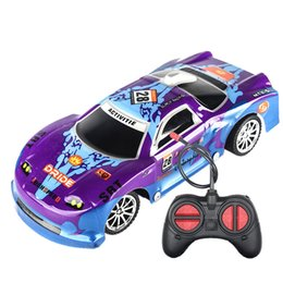 Green Truck Cars Australia - wholesale Control Remote Controlled Truck Purple Car Radio Control Toy For Kids Lots Of Surprise And Fun JAN3