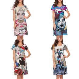 $enCountryForm.capitalKeyWord Australia - Womens design printing ArtStation Harley Quinn, Alexa Pásztor white lounge shirt dress designer champion printed loungewear creator 1