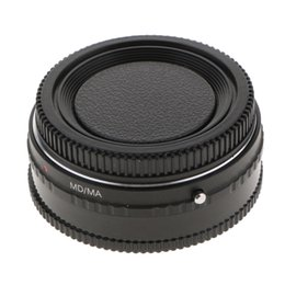 Discount alpha ma For Minolta MD MC Lens To Alpha AF MA Mount Adapter A77 A65 W