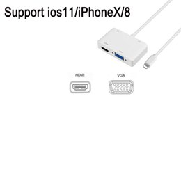 $enCountryForm.capitalKeyWord Australia - Lightning to HDMI VGA Adapter Converter Cable iPhone to HDMI VGA AV Cable for iPhone iPod iPad
