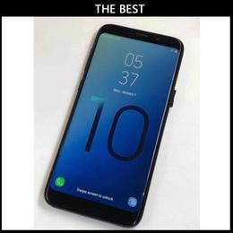 Venta al por mayor de DHL Best Version Goophone S10 Plus de 6,3 pulgadas con la cara Iris ID teléfono inteligente WCDMA 4G Quad Core Ram 2GB ROM 32GB Android 7.0 Cámara 12MP