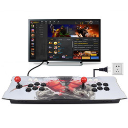 Game arcade joystick button online shopping - Newest D Handheld Arcade Game console D Home Game controller with Joystick Buttons Board V GA HDMI OUT games Support English Korean