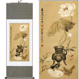 flowers art painting Australia - Flower Art Paintings Traditional Chinese Art Painting Home Office Decoration Chinese Painting