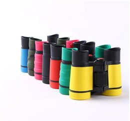 Year Old Games Australia - 4x30 Rubber Children Binoculars Pocket Size Telescope Children's Day Toy Binocular for over 3 years Old kids Outdoor Games Toys Gift