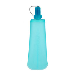 drinking water pots UK - Portable Cup Water Bottle Tourism Drinking Pot Water Bag Outdoor Sports Flexible Convenient Riding Hot Sale 18rkf1