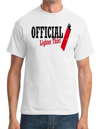 Lighter Cotton Australia - Official Lighter Thief - Funny - Mens T-Shirt Funny 100% Cotton T Shirt Cattt Windbreaker Pug Tshirt