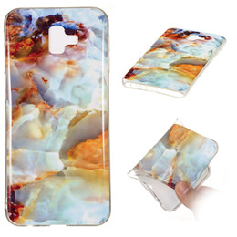 j2 phones 2020 - Marble Soft TPU IMD Case For Huawei Mate 20 Lite Pro Sony XZ3 Galaxy (A9 A7 J2 Pro J4 J6 P)2018 Nokia 7.1 Natural Stone