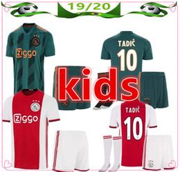 $enCountryForm.capitalKeyWord NZ - 2019 2020 Ajax FC Soccer Jerseys home kids kits 19 20 #7 NERES # 10 TADIC DE LIGT ZIYECH Child Football Shirt uniform jersey+shorts