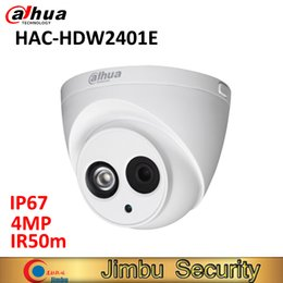 $enCountryForm.capitalKeyWord Australia - Dahua 4MP HDCVI Dome camera HAC-HDW2401E waterproof IP67 4MP IR50M cctv security camera optional 6mm or 3.6mm
