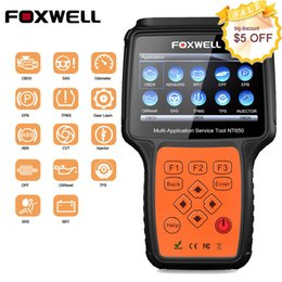 Dpf online shopping - FOXWELL NT650 OBDII Diagnostic Scanner EPB SAS BMS DPF ABS SRS AT Oil Reset Tool