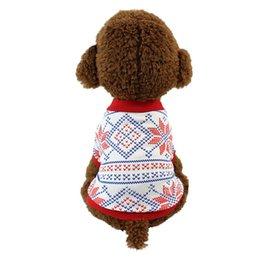 $enCountryForm.capitalKeyWord Australia - Christmas Dog Gift Pet Clothe Small Puppy Soft Coat Jacket Summer Apparel Cartoon Clothing t shirt Jumpsuit Outfit Pet Supply DHL Free
