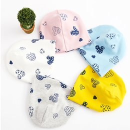 $enCountryForm.capitalKeyWord Australia - Fashion Autumn Newborn Baby Beanies Children Hat Cap For Boys Girls Kids Cartoon Winter Warm Care Infant Toddler Hats 0-8Y