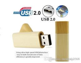 $enCountryForm.capitalKeyWord Australia - Wooden  Bamboo USB Flash Drive Storage Device Pen Drive 128GB Memory Stick U Disk Gift