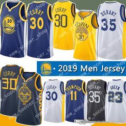 98394adb4693 Stephen 30 Curry Golden Mens State Kevin 35 Durant Jersey Warriors Draymond  23 Green Klay 11 Thompson Andre 9 lguodala Jerseys