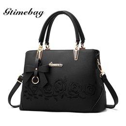 $enCountryForm.capitalKeyWord Australia - Gtimebag Vintage Handbag Casual Tote Fashion Women Messenger Bags Shoulder Top-handle Purse Wallet Nice Pop Black Blue-pxqbag5