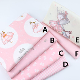 Cotton Tale Baby Australia - 160CM*50CM fairy tale princess cotton fabric sewing baby cloth infant linens kids bedding fabric cushion patchwork sewing tissue