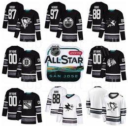 24c59291c Discount nhl star jerseys - 2019 NHL All Star Hockey Jersey Connor McDavid  David Pastrnak Joe