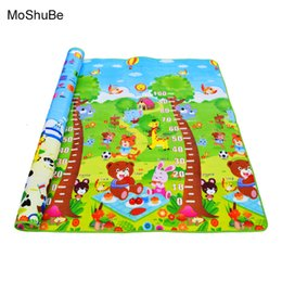 alphabet games Australia - 0.5cm Baby Educational Alphabet Game Rug Bear Crawling Blanket Play Mat , EVA Foam Mat For Children Puzzle Activity Gym Carpet SH190917