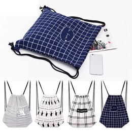 $enCountryForm.capitalKeyWord Australia - good quality Backpack Travel Women Canvas Printed Cartoon Plaid Striped Backpack For Girls For School Bags For Teenagers 2019
