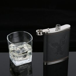 Wholesale Stainless Steel Hip Liquor Whiskey Alcohol Flask oz Vodka Wine Bottle New