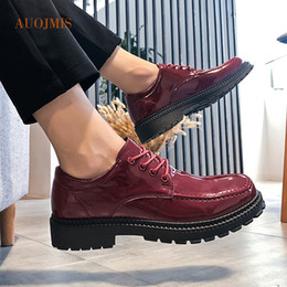$enCountryForm.capitalKeyWord Australia - Summer tide shoes thick bottom increased casual shoes male Korean version of the wild men's tooling British small