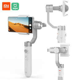 Xiaomi Mijia Handheld Gimbal Stabilizer 3 Axis Smartphone Gimbal 5000mAh Battery For Action Camera Cellphone SJYT01FM from Xiaomi youpin on Sale