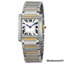 $enCountryForm.capitalKeyWord Australia - Silver Dial 18kt Yellow Gold Steel Ladies Watch Scratch Resistant Sapphire Blued-steel Sword-shaped Roman Numeral