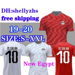 1dc133f3d0c Discount egypt shirts - 2019 2020 Egypt soccer jersey M. SALAH world cup  Home Red