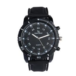 $enCountryForm.capitalKeyWord Australia - Super Speed Band Man's Black Case Quartz Watch Fashion Style Band Wristwatch Black Business Clock Classic Hours Gift relogio Q5