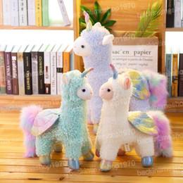 $enCountryForm.capitalKeyWord Australia - Unicorn Alpaca Plush Toys Kawaii Alpacasso Stuffed Toys Japanese Plush Doll Toys Children gift 30cm Janpanese Animal White Sheep Plush Toy