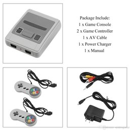 Free Entertainment Games NZ - Super Mini Classic SFC TV Handheld Game Console Entertainment System SFC SNES Games Player Free DHL