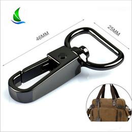 $enCountryForm.capitalKeyWord Australia - 10pcs Metal Swivel Trigger Lobster Clasp Snap Hook Key Chain Ring Paracord Lanyard DIY Craft Outdoor Backpack Bag Parts