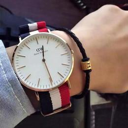 $enCountryForm.capitalKeyWord Australia - New Arrive 40mm White Leather ladies Daniel wellington dw watch Men luxury for women fashion watch leather Casual Wrist watches Gift