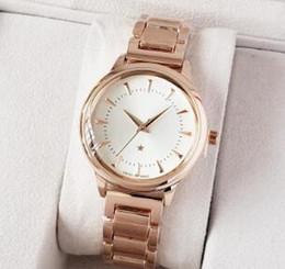 Small Clocks Watch UK - reloj mujer 2019 Simple Small Face Ladies dress Rose gold watch luxury Diamond women watches silver Bracelet stainless steel quartz clock