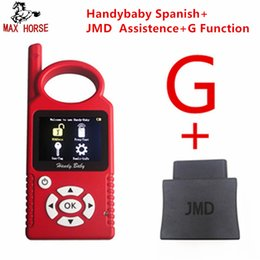 Cbay Key Programmer NZ - JMD Handy Baby Hand-held Auto Key Tool for 4D 46 48 G King Chip Programmer CBAY Multi-language V9.0.0 Chips Copier OBD Assistant