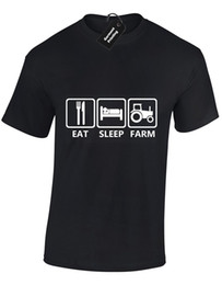 $enCountryForm.capitalKeyWord Australia - EAT SLEEP TRACTOR KIDS CHILDRENS T SHIRT TOP FARMING AGRICULTURE DESIGN FUNNY