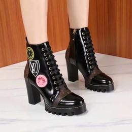 Raining paintings online shopping - Best Women s Mid Calf Rain Boots Soft Autumn Lace Up Oxford Martin Shoes Woman Ladies Platform Heels PU Footwear women boots