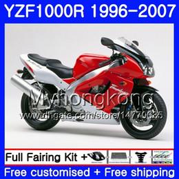 $enCountryForm.capitalKeyWord Australia - Body For YAMAHA Thunderace YZF1000R 96 97 98 99 00 01 238HM.5 YZF-1000R YZF 1000R Red silvery hot 1996 1997 1998 1999 2000 2001 Fairings kit