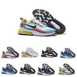 Vente en gros nike air max 270 Flyknit Utility Chaussures de course BAUHAUS Electro Vert HYPER JADE Rose Bleu Violet brillant ANNULERA Mode Hommes Baskets sport Chaussures de sport UK7