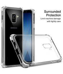 samsung a9 pro cases Australia - Clear Bumper Shockproof Cover Case For Samsung Galaxy S8 S9 S10 E A6 A8 Plus A9 2018 Note 8 9 10 10 Pro Plus J6 J8 Airbag Silicone housing