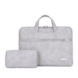 Laptop handbag 15 online shopping - Waterproof PU leather Laptop bag for Women inch Laptop sleeve case bags for women handbag bolso mujer
