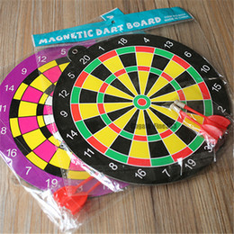 free boy toy Australia - Darts Toys Kids Safety Decompression Toy Sports Magnetic Dart Board With Darts For Boys Gifts Free Shipping