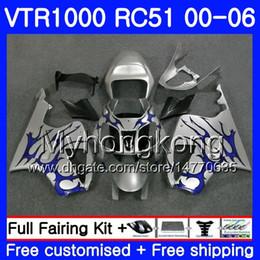 $enCountryForm.capitalKeyWord Australia - Kit Blue flames top For HONDA VTR1000 RC51 SP1 SP2 00 01 02 03 04 05 06 257HM.17 RTV1000 VTR 1000 2000 2001 2002 2003 2004 2005 2006 Fairing