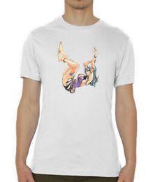 $enCountryForm.capitalKeyWord Australia - Fairy Tail Juria Sexy Laying Down Art Printed Men's T-Shirt